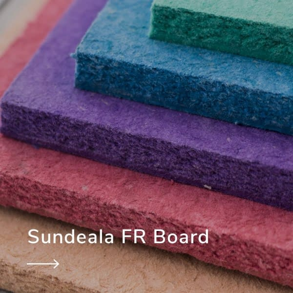 sundeala fire resistant notice board and pin board